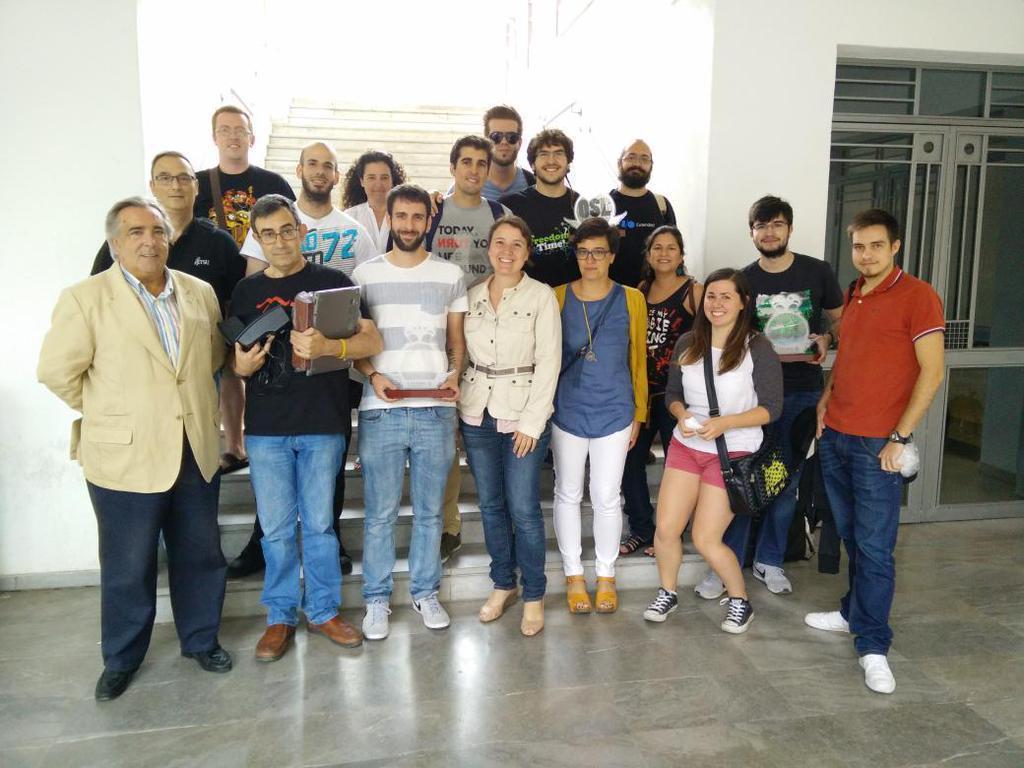 Evenge, primer clasificado en certamen de Proyectos Libres de la UGR